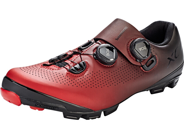 50f241d2dd1 Shimano SH-XC701 Shoes red at Bikester.co.uk